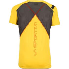 La Sportiva Blitz T-Shirt Men Yellow/Carbon